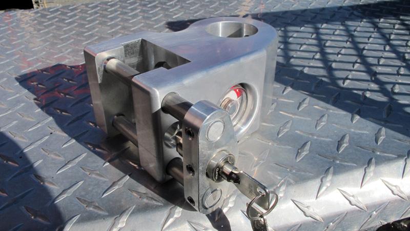 weigh safe aluminum adjustable receiver hitch tongue